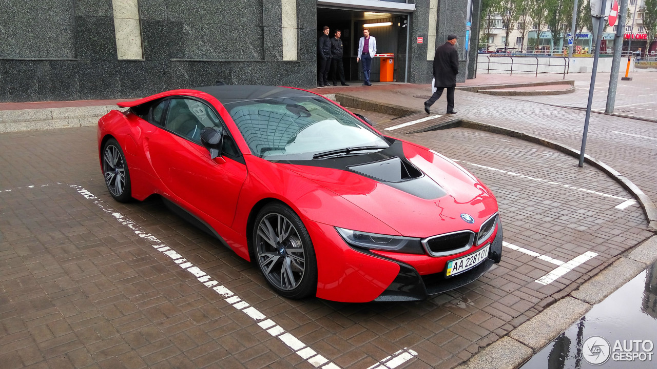 Bmw I8 Protonic Red Edition 31 May 2017 Autogespot