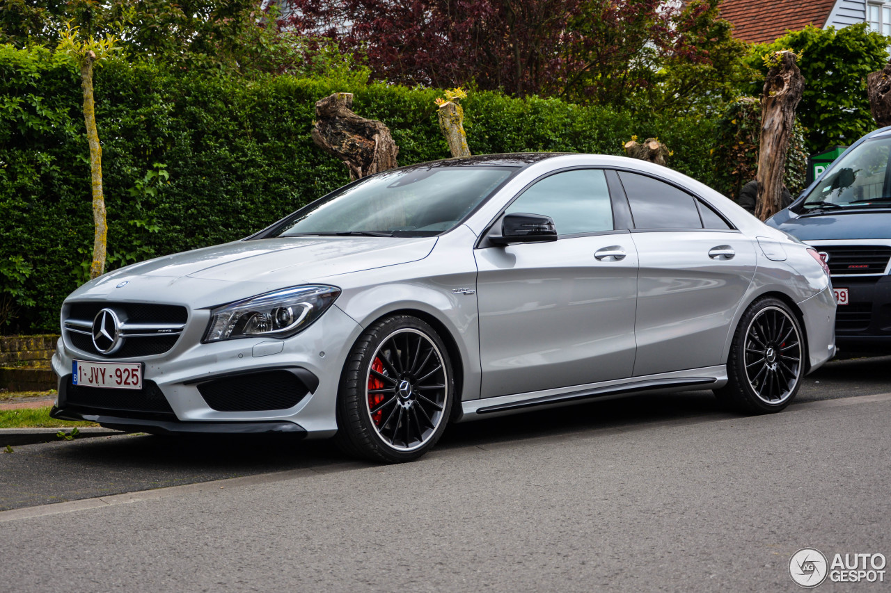 mercedes benz cla 45 amg c117 31 may 2017 autogespot