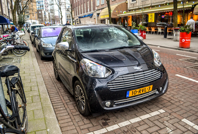 Aston Martin Cygnet Launch Edition Black