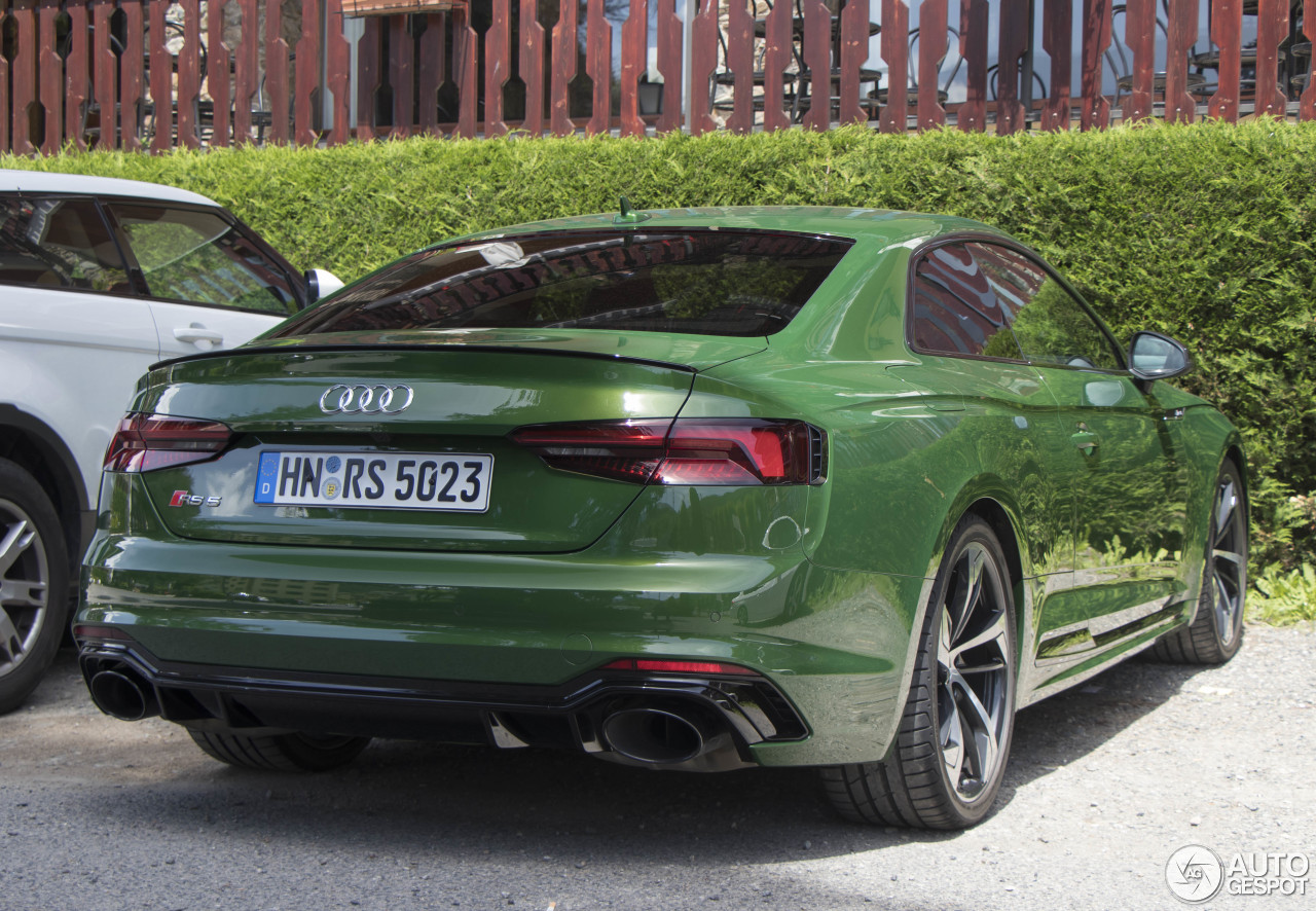 B9 Rs5 In Sanoma Green Audi