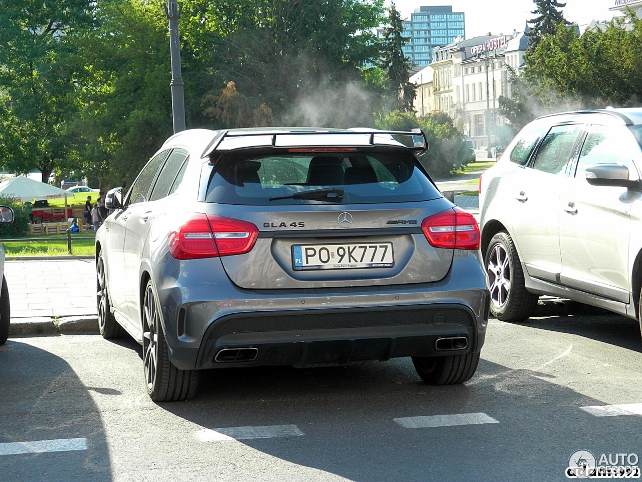 Mercedes benz gla 45 amg x156 1 czerwiec 2017 autogespot for 2017 amg gla 45 mercedes benz