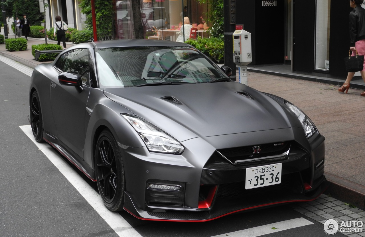 nissan gt r 2017 nismo 1 juin 2017 autogespot. Black Bedroom Furniture Sets. Home Design Ideas