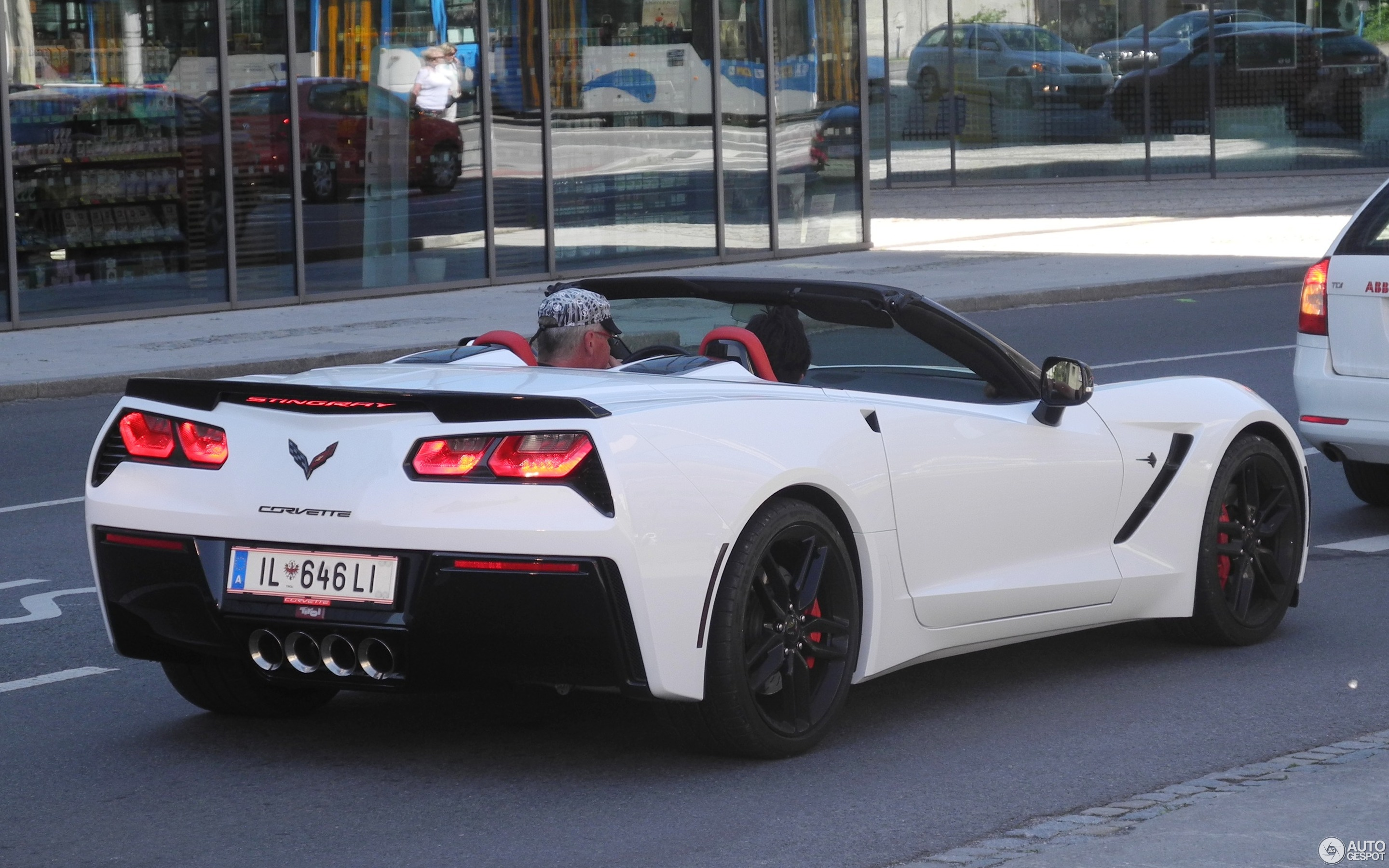 Chevrolet Corvette C7 Stingray Convertible 2 June 2017 Autogespot