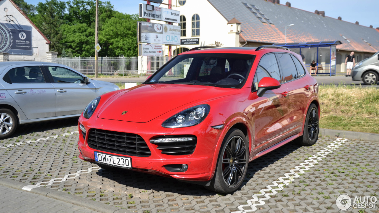 porsche 958 cayenne gts 3 juni 2017 autogespot. Black Bedroom Furniture Sets. Home Design Ideas