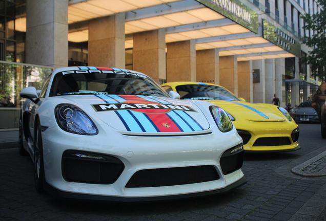 Porsche 981 Cayman GT4
