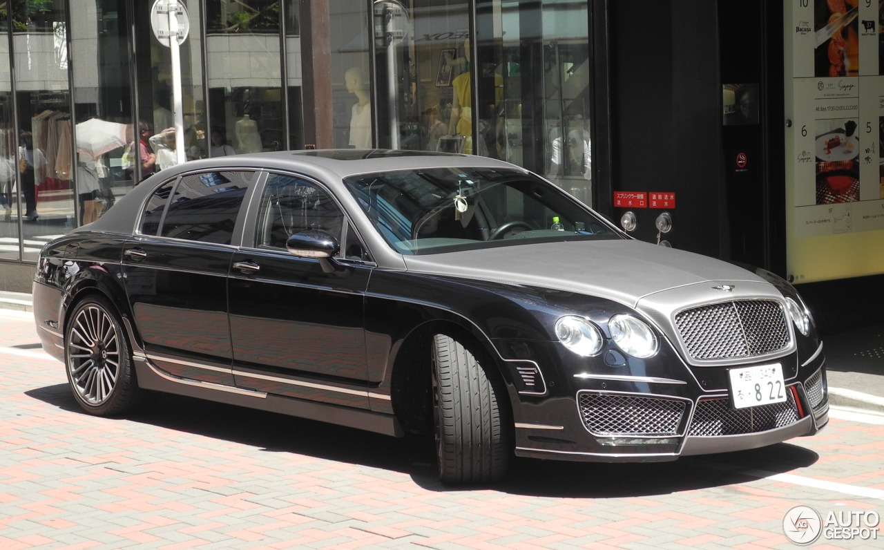 Bentley Mansory Continental Flying Spur Speed - 4 June ...