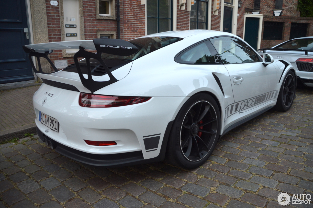 porsche 991 gt3 rs 4 june 2017 autogespot. Black Bedroom Furniture Sets. Home Design Ideas