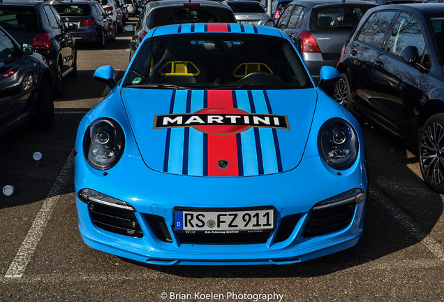 Porsche 991 Carrera S Martini Racing Edition