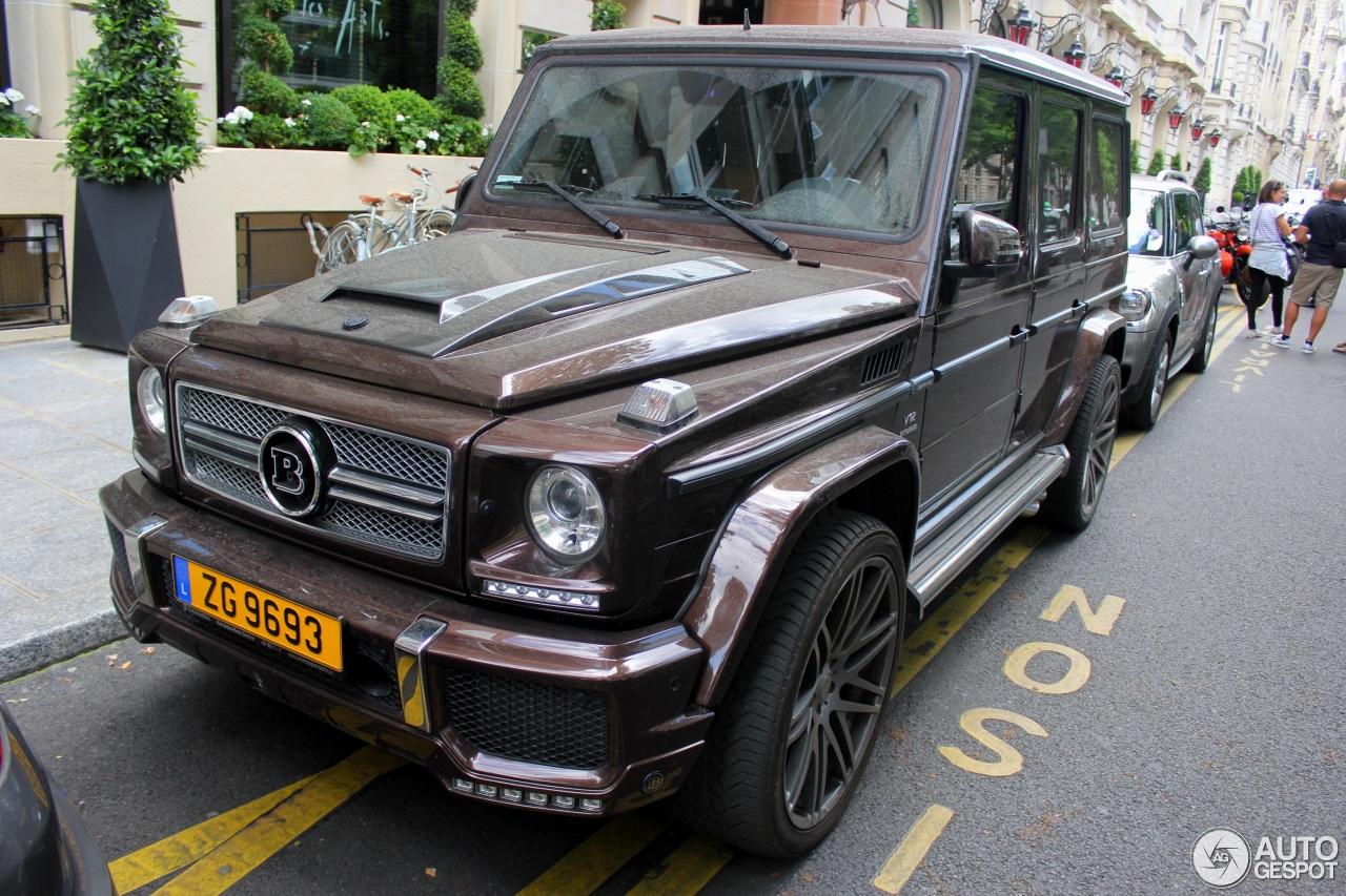 Mercedes benz brabus g 65 amg b65 670 5 june 2017 for Mercedes benz g 65 amg