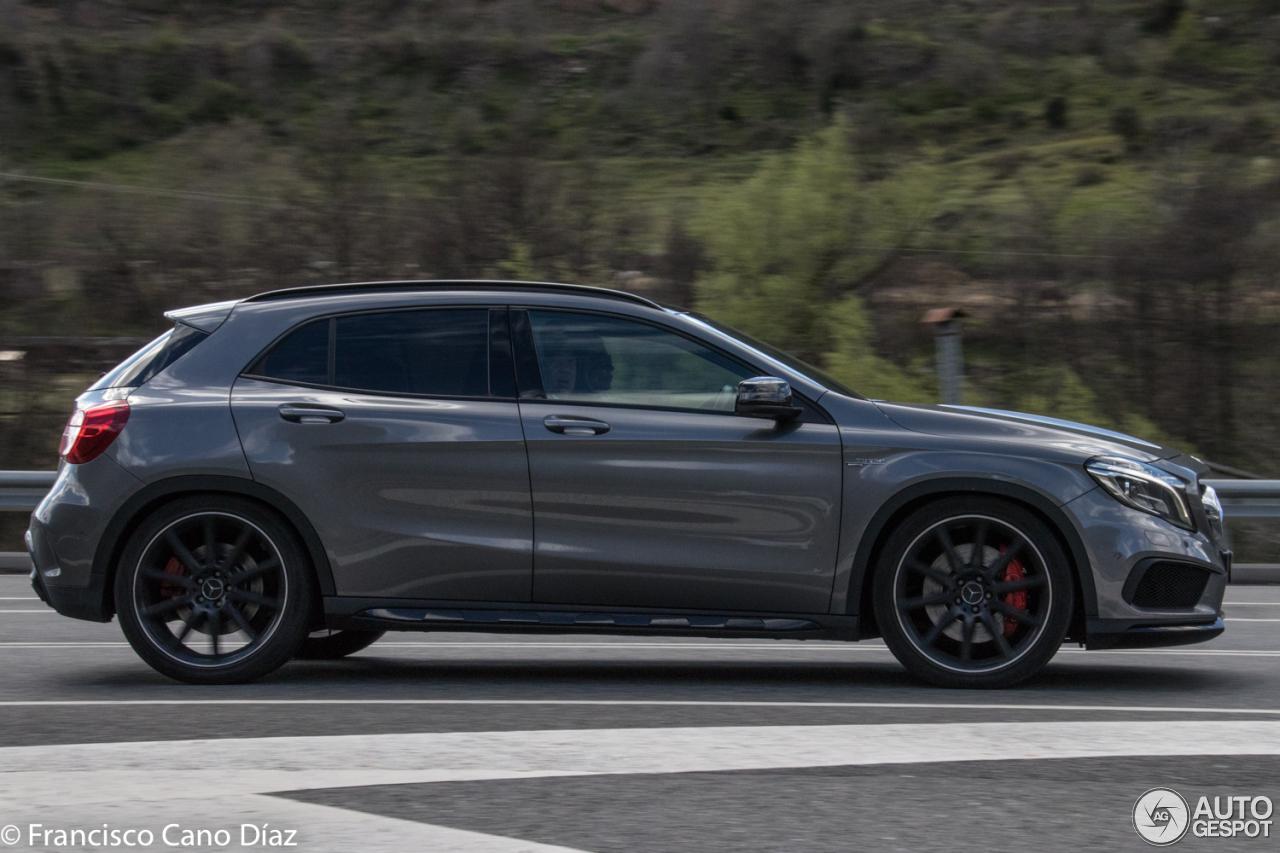 Mercedes benz gla 45 amg x156 5 junio 2017 autogespot for 2017 mercedes benz amg gla 45