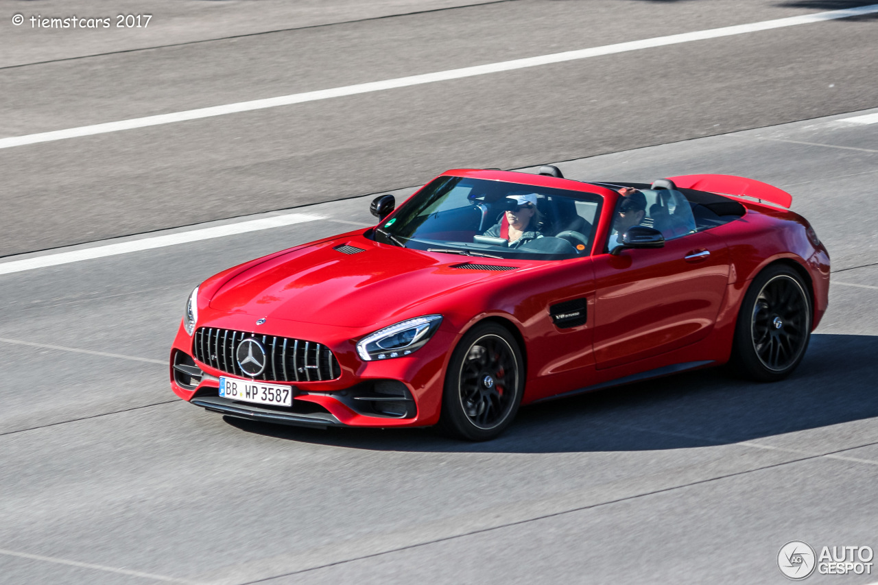 mercedes amg gt c roadster r190 6 june 2017 autogespot. Black Bedroom Furniture Sets. Home Design Ideas