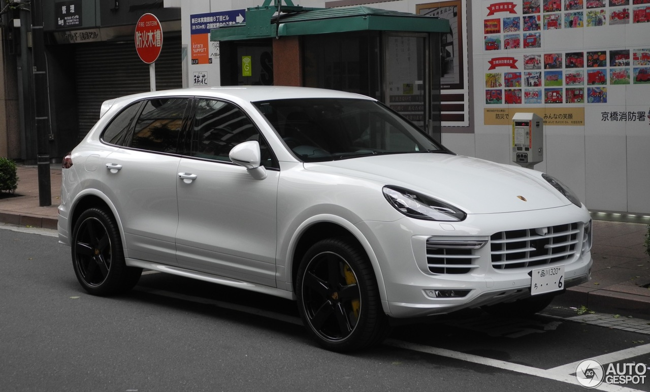 porsche 958 cayenne turbo s mkii 6 june 2017 autogespot. Black Bedroom Furniture Sets. Home Design Ideas