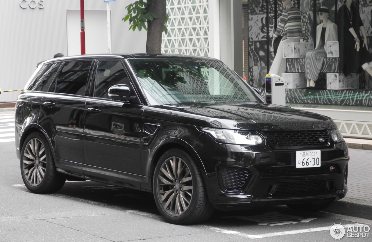 land rover range rover sport svr 7 june 2017 autogespot. Black Bedroom Furniture Sets. Home Design Ideas