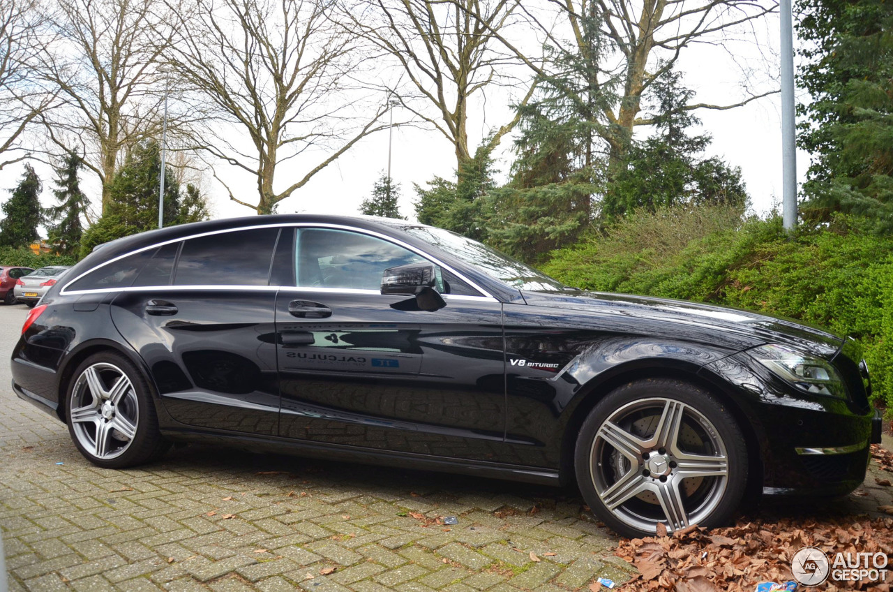 Mercedes benz cls 63 amg x218 shooting brake 7 june 2017 for 2017 amg cls 63 mercedes benz