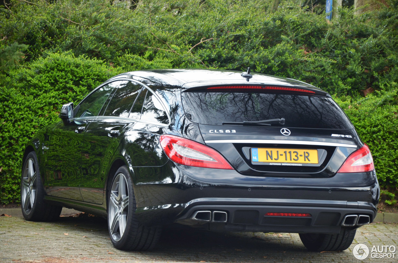 mercedes benz cls 63 amg x218 shooting brake 7 june 2017 autogespot. Black Bedroom Furniture Sets. Home Design Ideas