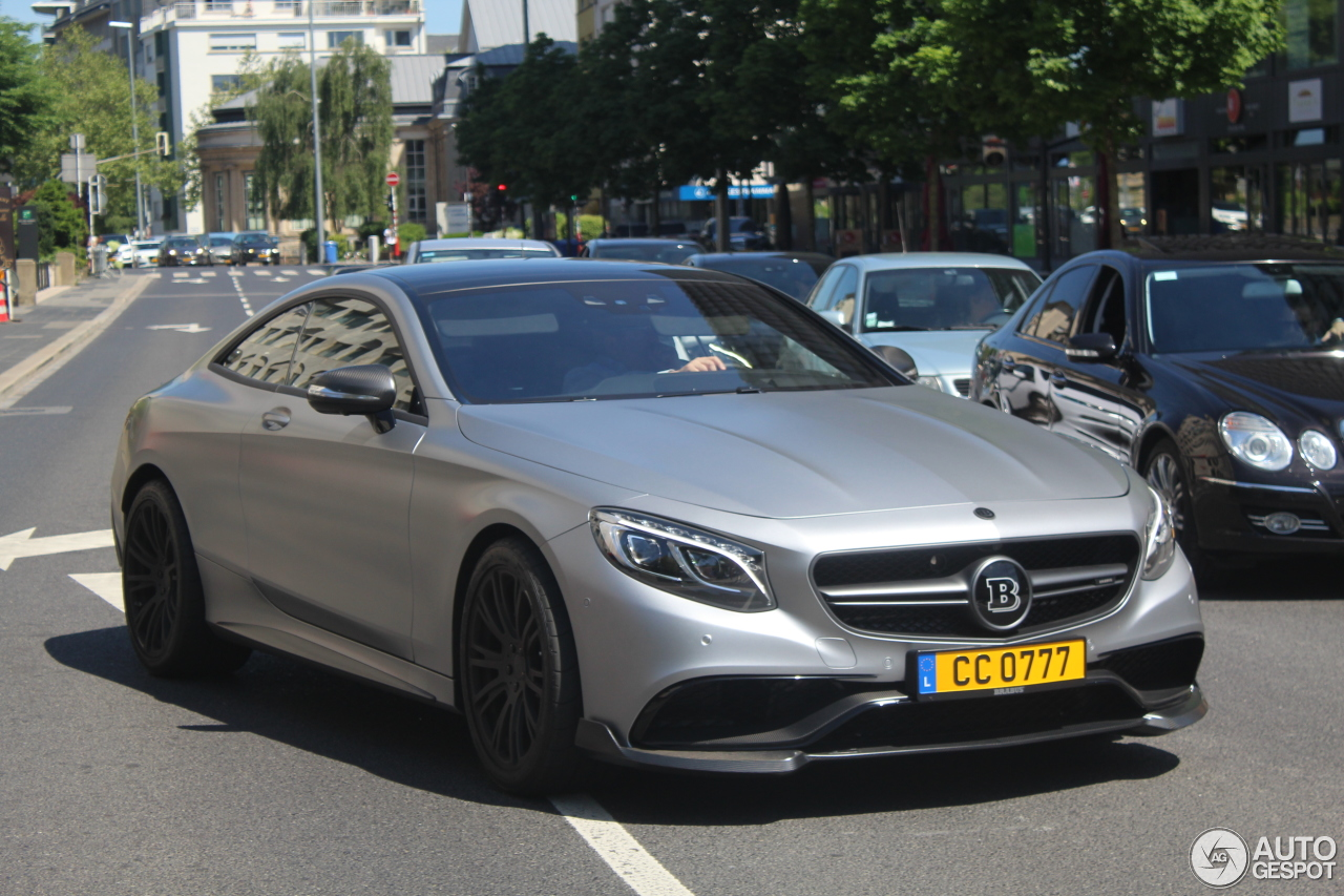 Mercedes benz brabus 850 6 0 biturbo coupe c217 8 june for Mercedes benz 850