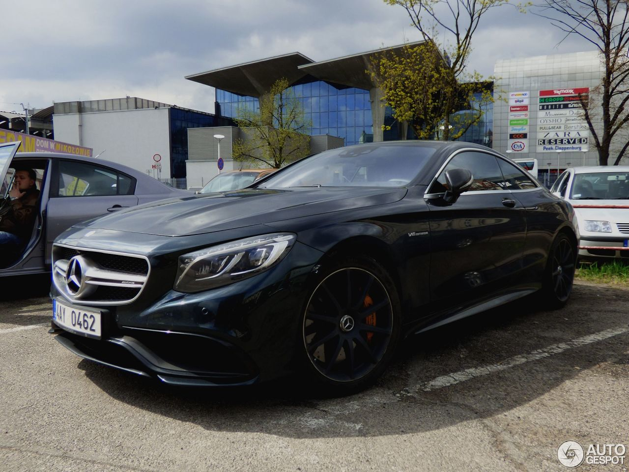 Mercedes benz s 63 amg coup c217 8 czerwiec 2017 for 2017 mercedes benz amg s 63 coupe