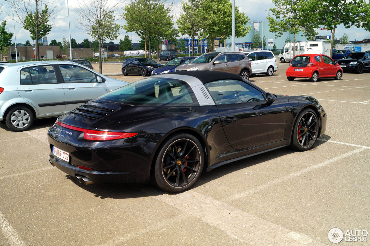 porsche 991 targa 4s 8 june 2017 autogespot. Black Bedroom Furniture Sets. Home Design Ideas