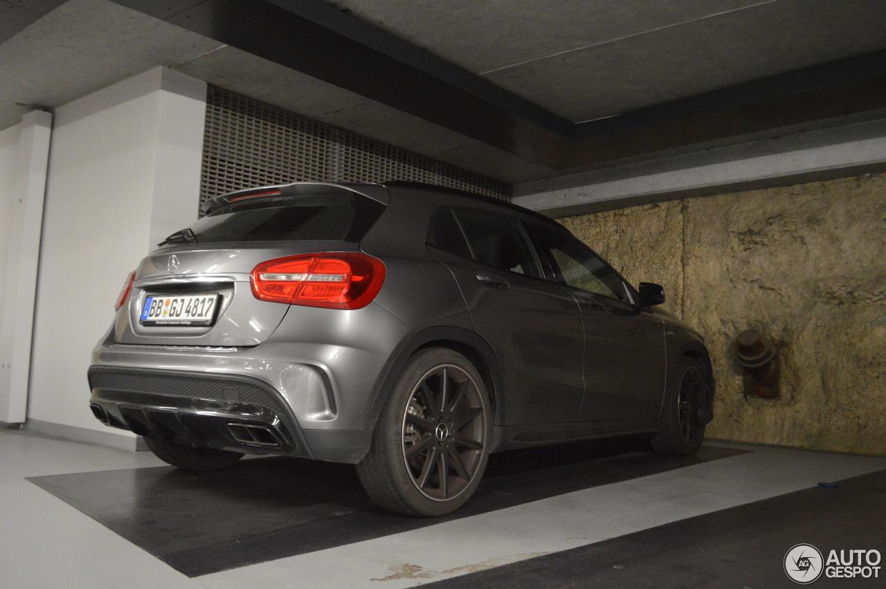 Mercedes benz gla 45 amg x156 10 juni 2017 autogespot for 2017 mercedes benz amg gla 45