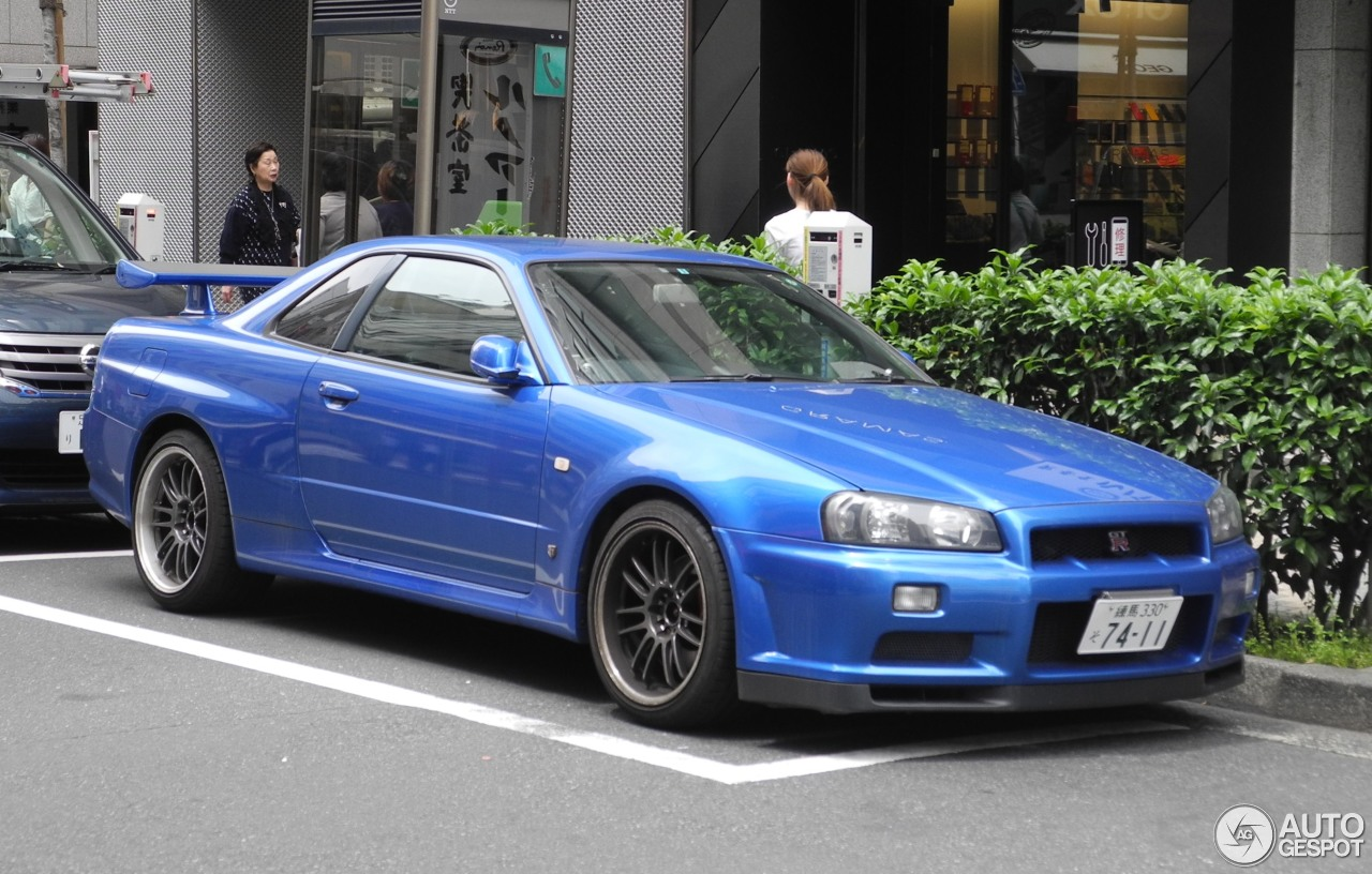 Nissan Skyline R34 Gt R 10 June 2017 Autogespot