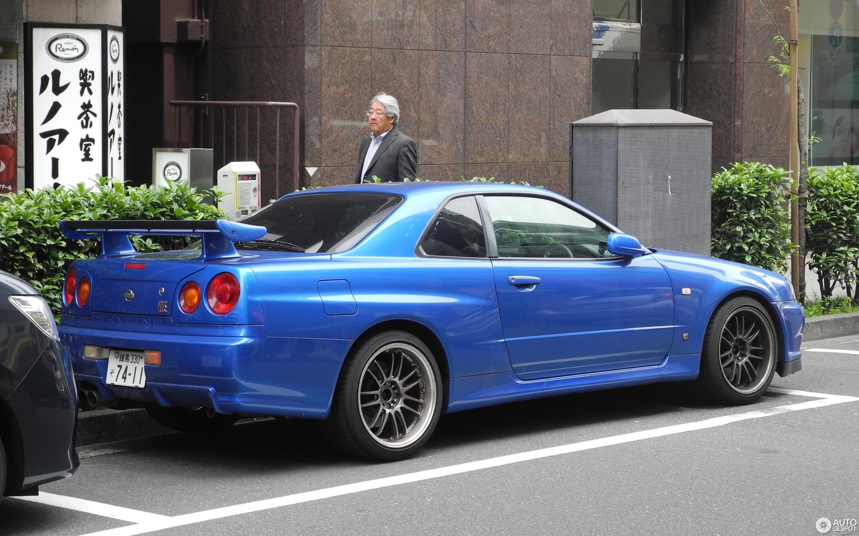 Nissan Skyline R34 Gt R 10 June 2017 Autogespot