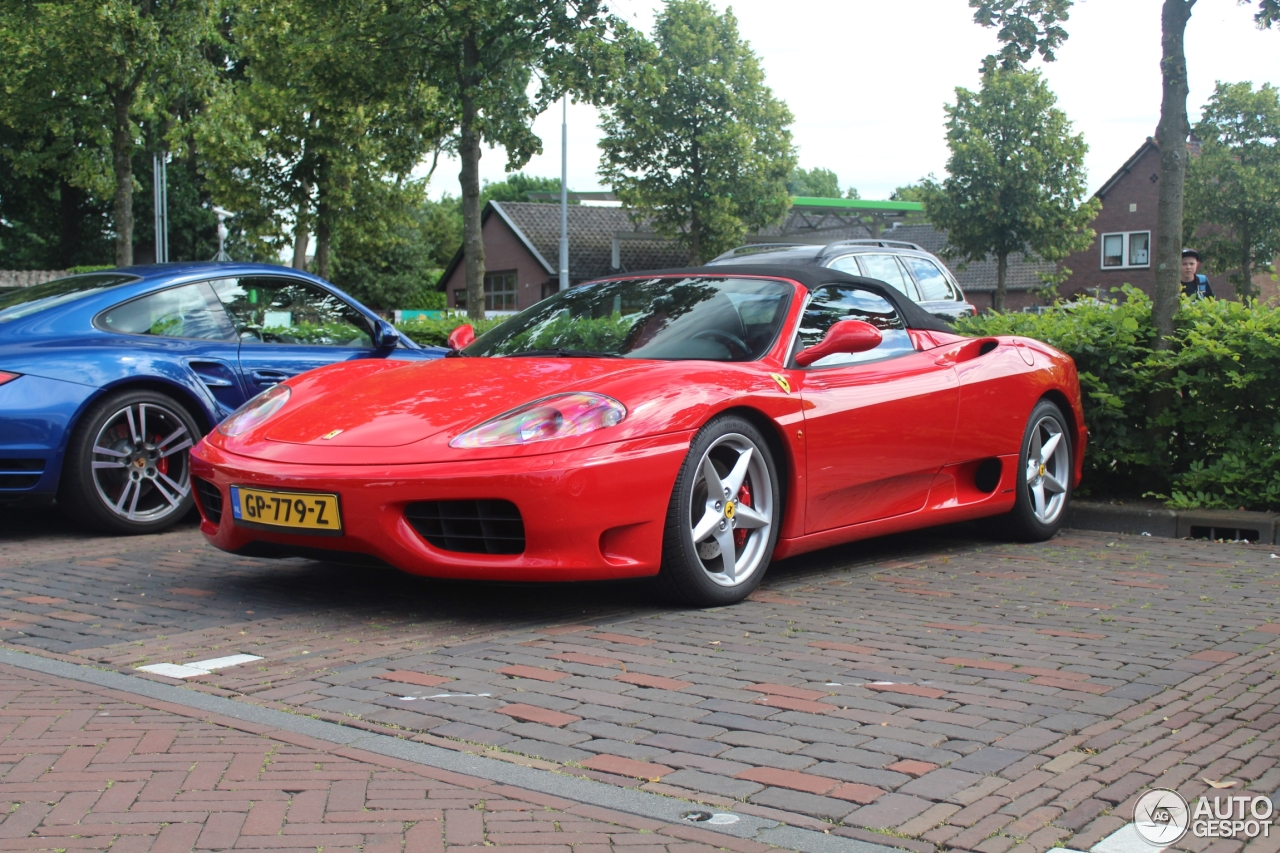 ferrari 360 spider 11 june 2017 autogespot. Black Bedroom Furniture Sets. Home Design Ideas
