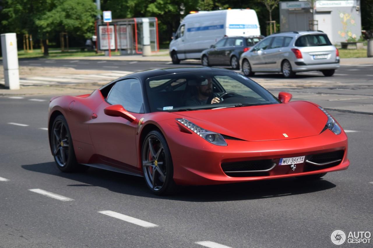 Ferrari 458 Italia - 11 czerwiec 2017 - Autogespot