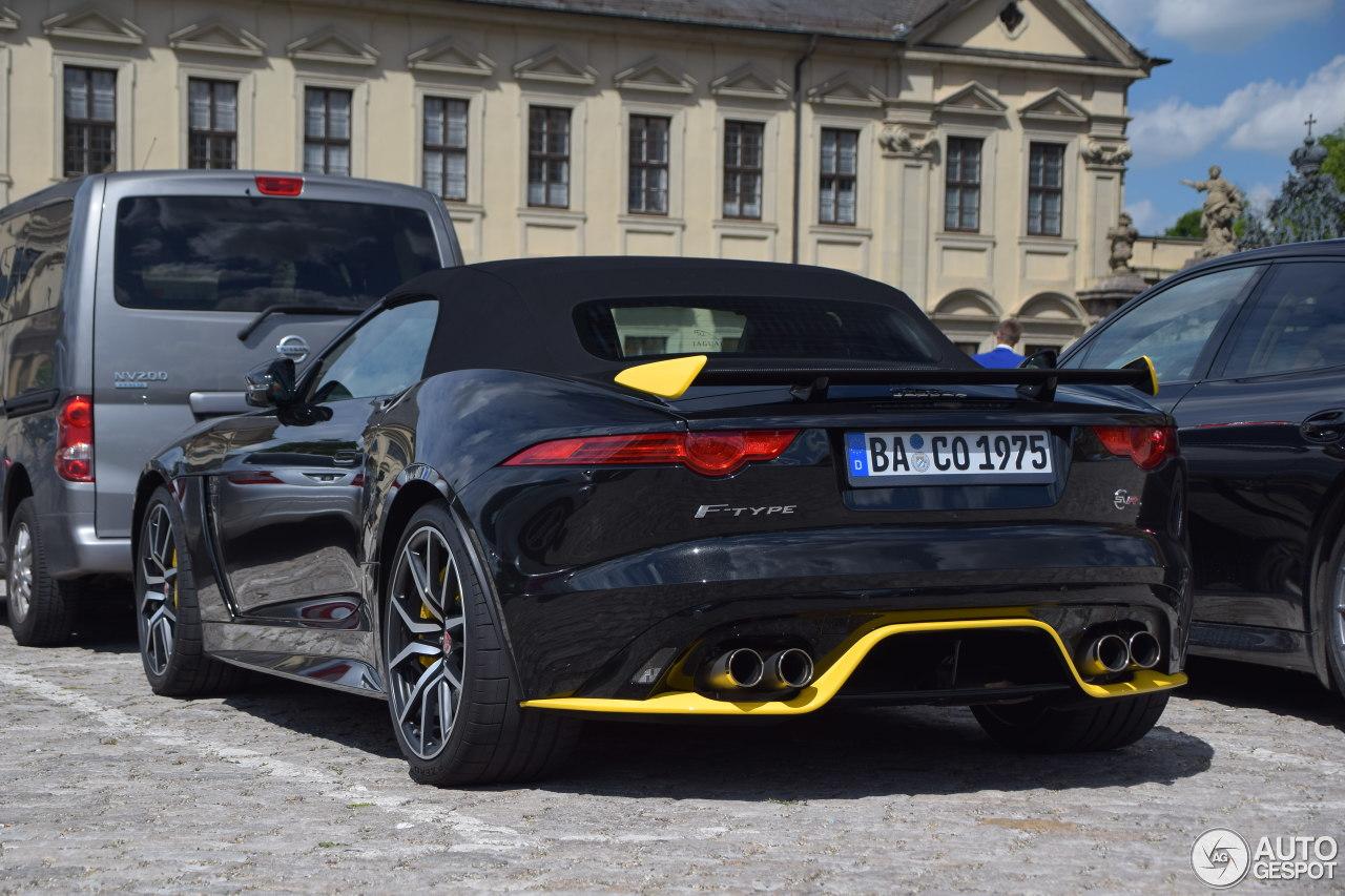 jaguar f type svr convertible 11 june 2017 autogespot. Black Bedroom Furniture Sets. Home Design Ideas