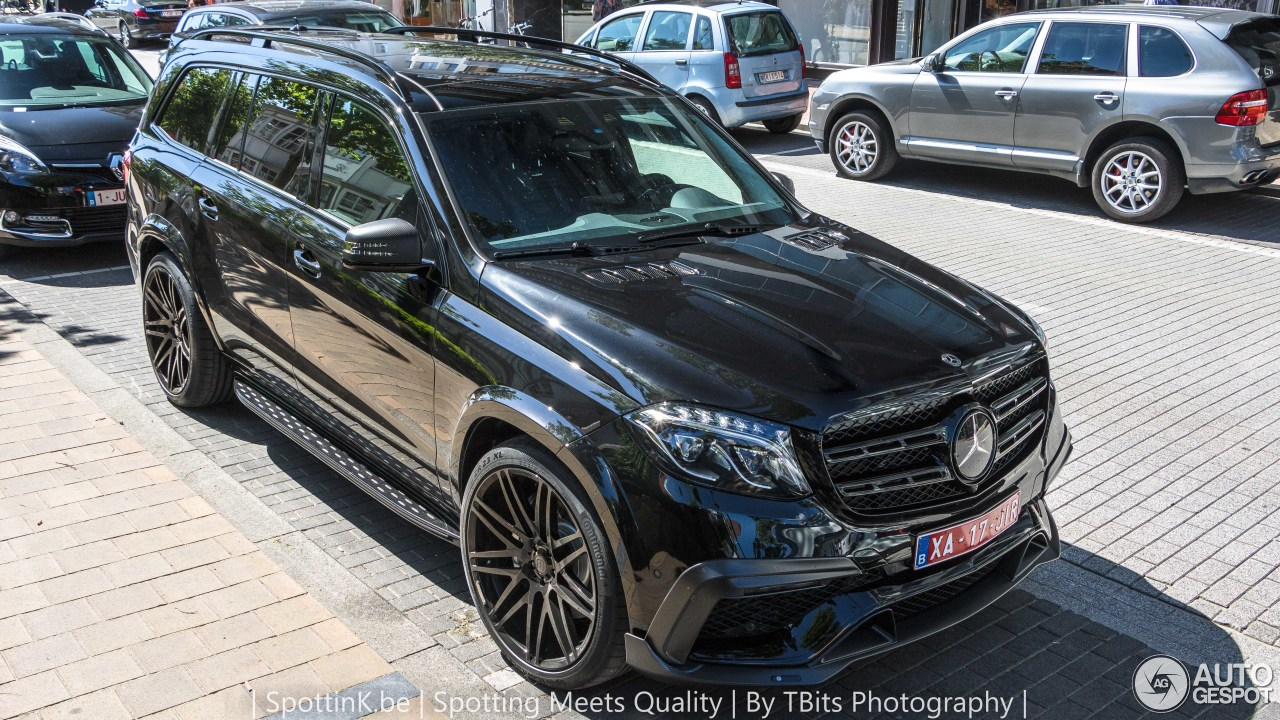 Mercedes Amg Brabus Gls 850 6 0 Biturbo 11 June 2017 Autogespot