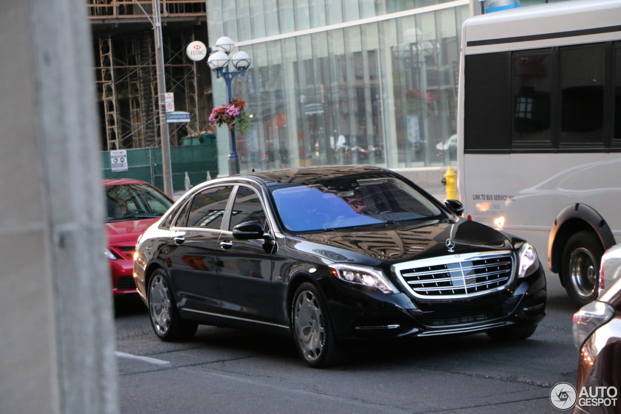 Mercedes maybach s600 11 june 2017 autogespot for 2017 mercedes benz s600