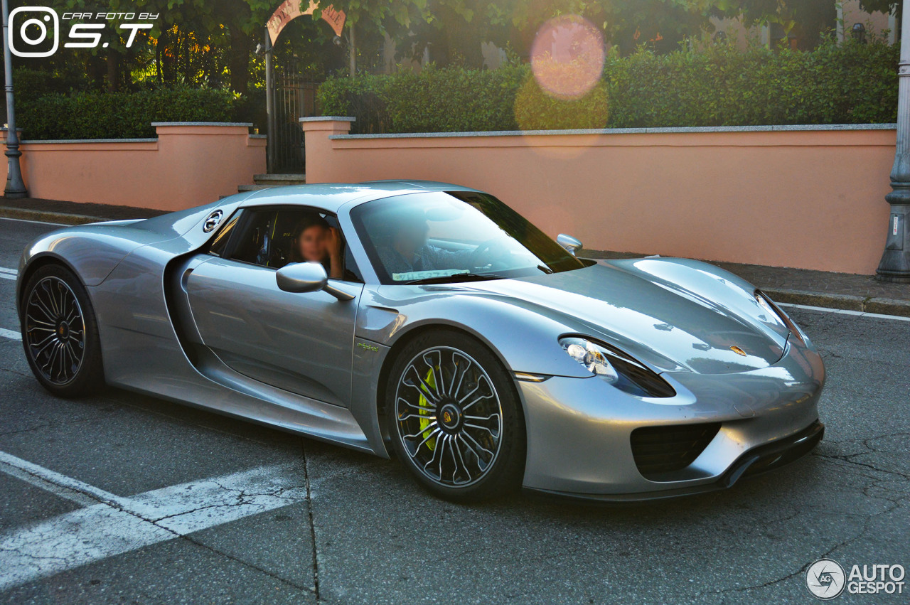 porsche 918 spyder 11 june 2017 autogespot. Black Bedroom Furniture Sets. Home Design Ideas