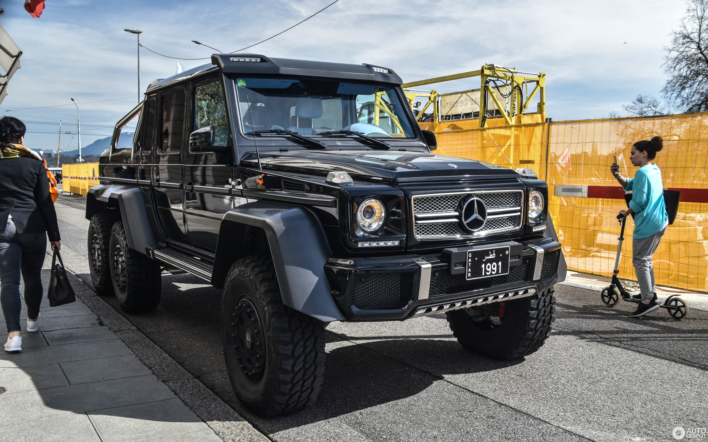 Jeep Mercedes Brabus >> Mercedes-Benz G 63 AMG 6x6 - 12 June 2017 - Autogespot