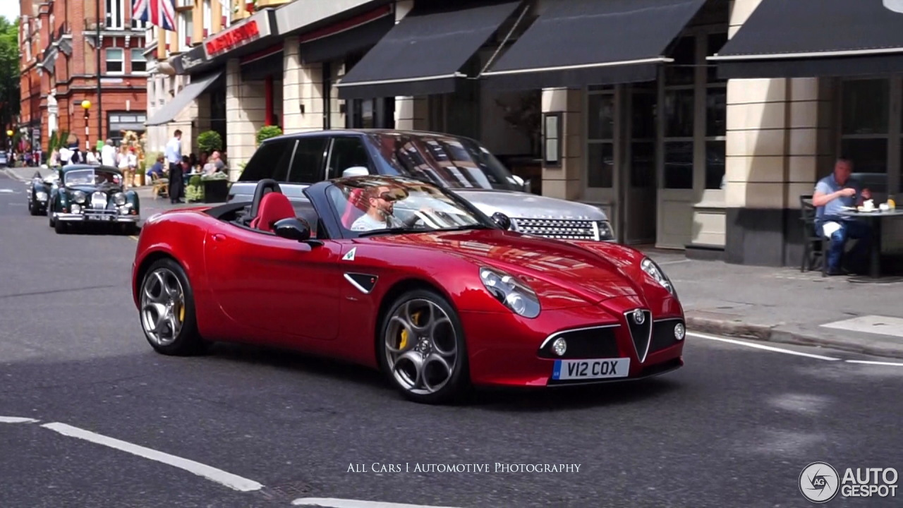 alfa romeo 8c spider 14 june 2017 autogespot. Black Bedroom Furniture Sets. Home Design Ideas