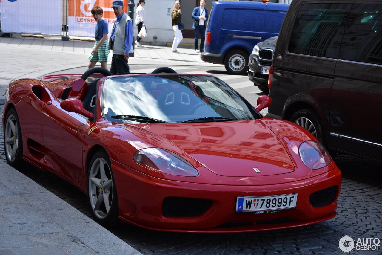 ferrari 360 spider 14 june 2017 autogespot. Black Bedroom Furniture Sets. Home Design Ideas