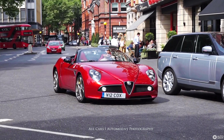 Crop Alfa Romeo C Spider C on Alfa Romeo 8c Spider