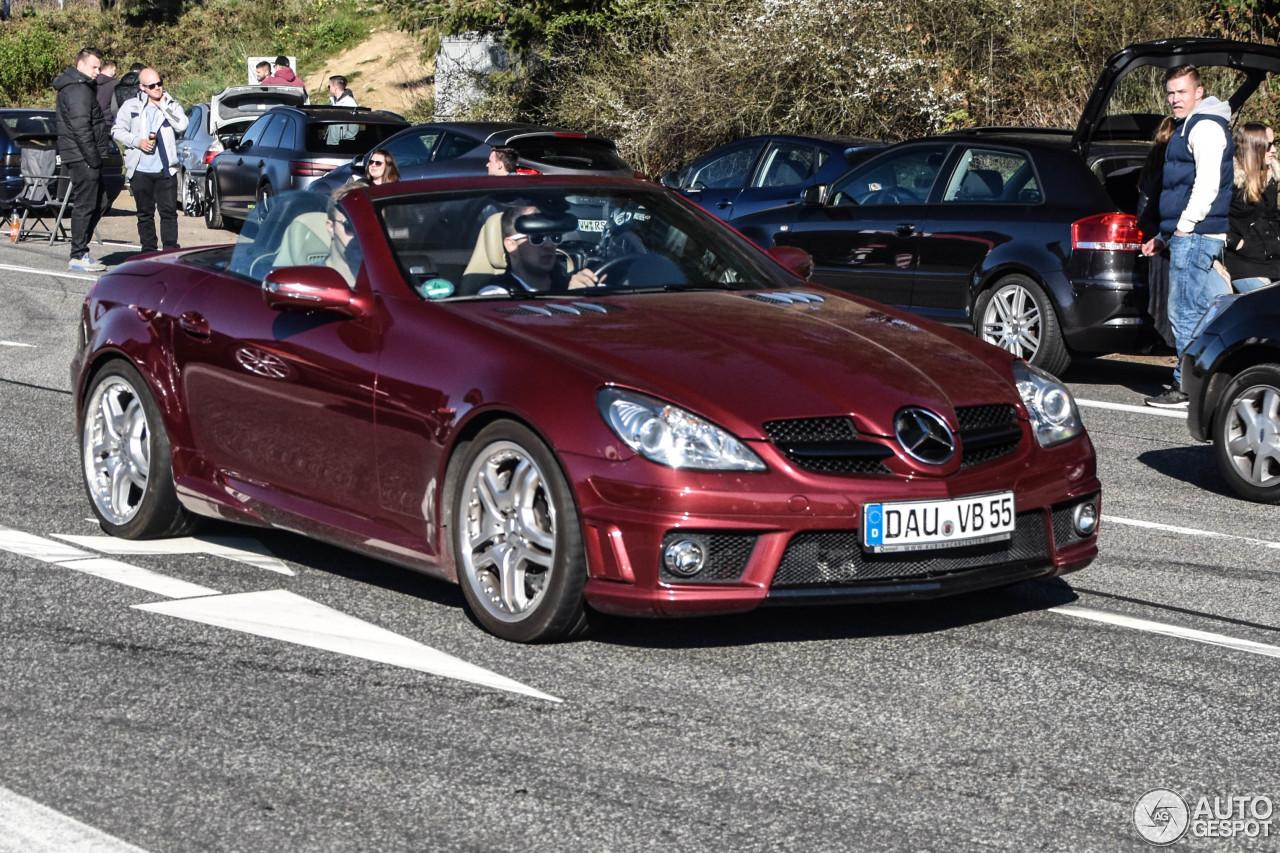 Mercedes benz slk 55 amg r171 2007 15 june 2017 autogespot for Mercedes benz slk 2007