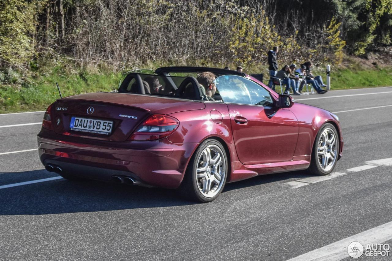 Mercedes benz slk 55 amg r171 2007 15 june 2017 autogespot for Mercedes benz slk amg 2017