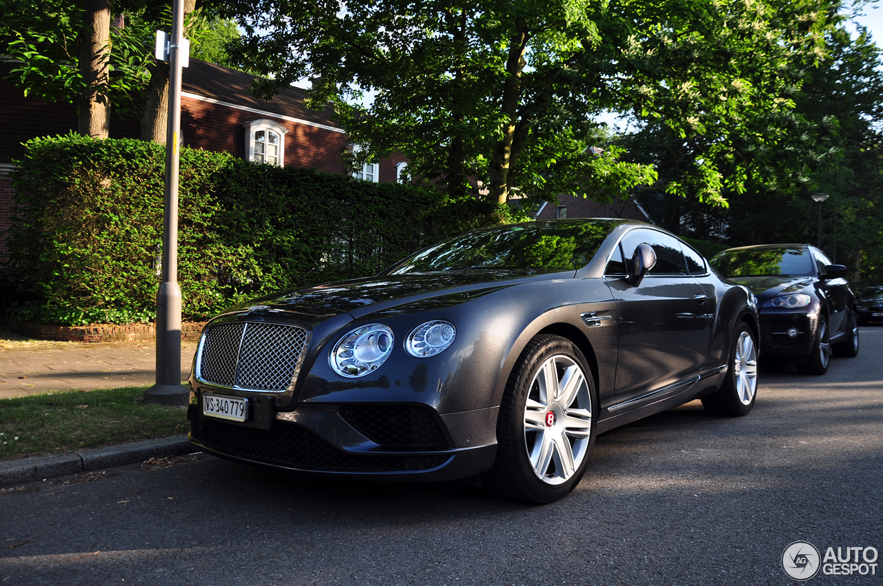 bentley continental gt v8 2016 17 juni 2017 autogespot. Black Bedroom Furniture Sets. Home Design Ideas