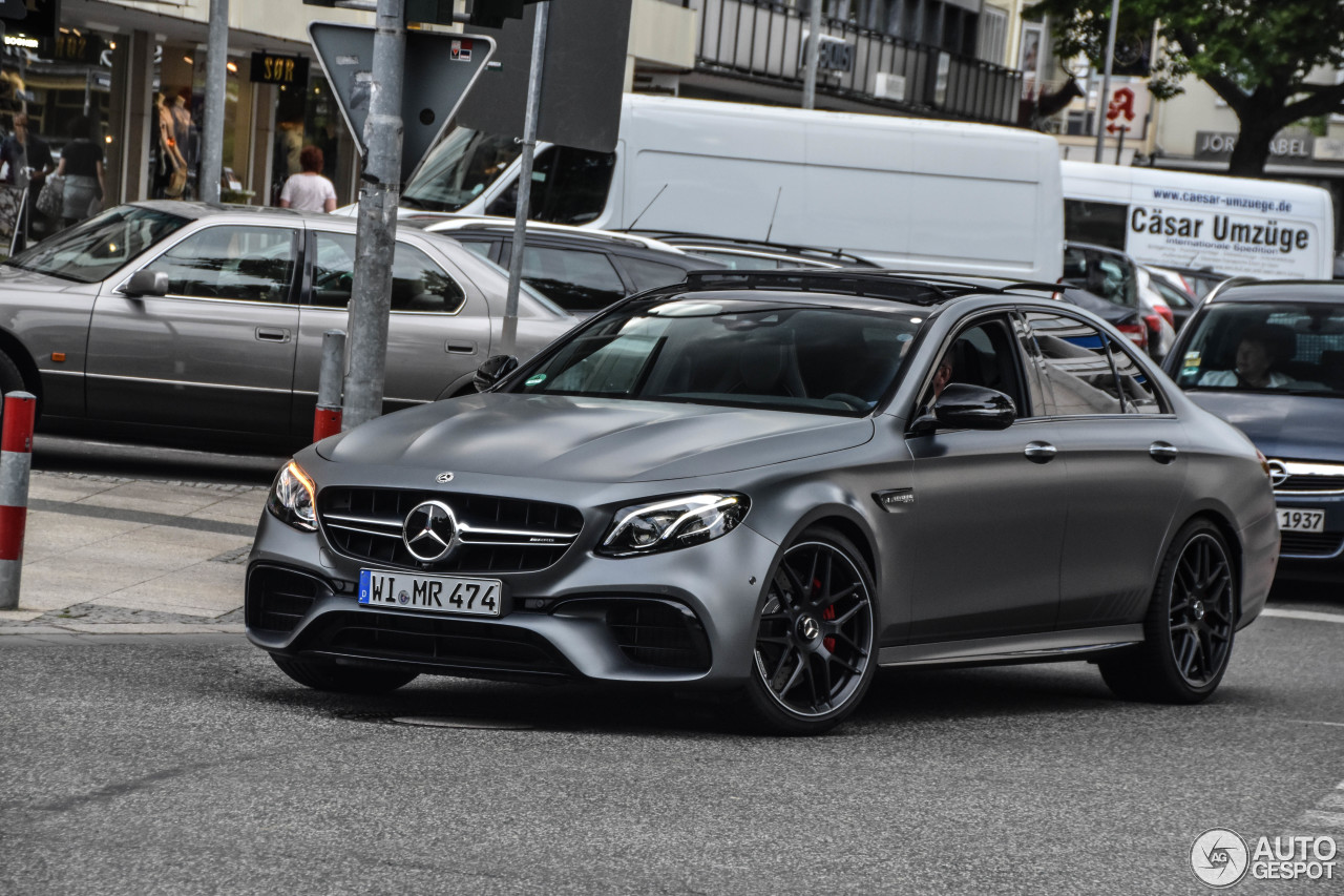 mercedes amg e 63 s w213 edition 1 17 june 2017 autogespot. Black Bedroom Furniture Sets. Home Design Ideas