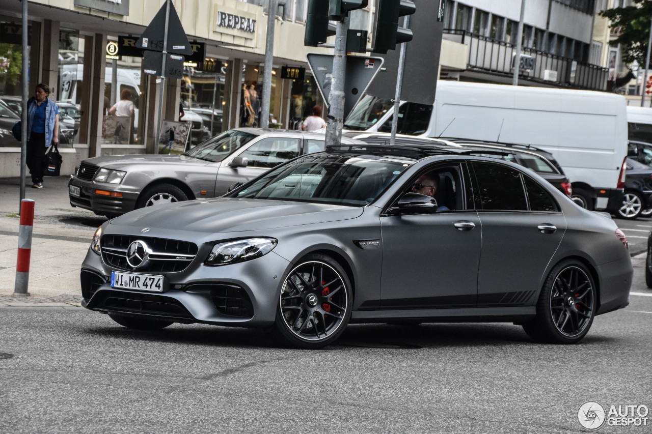 Mercedes amg e 63 s w213 edition 1 17 june 2017 autogespot for Mercedes benz e63s amg