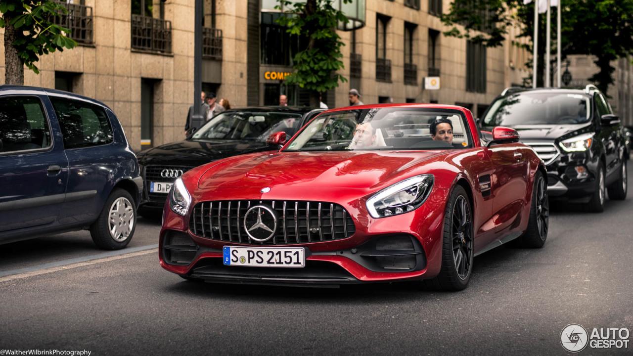 Mercedes-AMG GT C Roadster R190 - 17 June 2017 - Autogespot