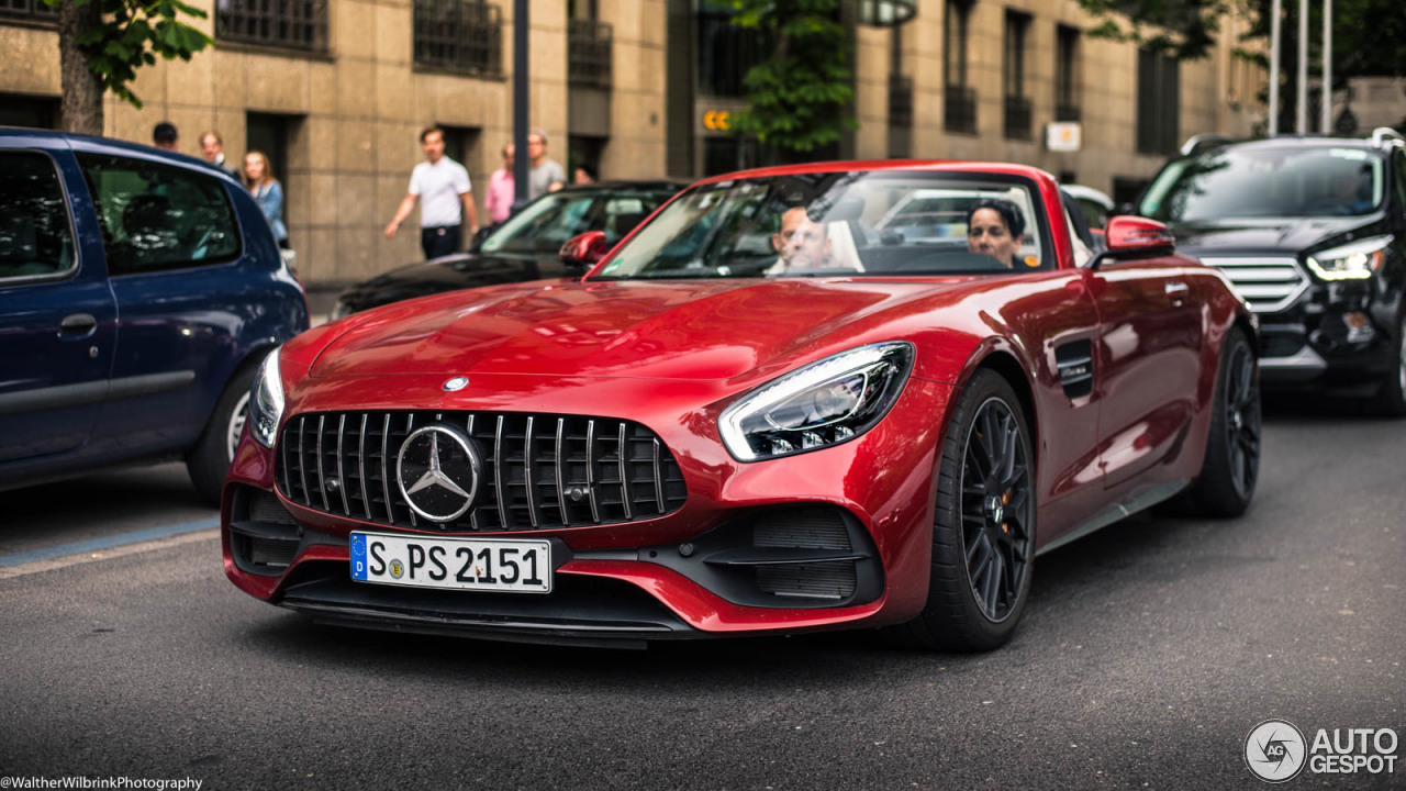 mercedes amg gt c roadster 17 june 2017 autogespot. Black Bedroom Furniture Sets. Home Design Ideas