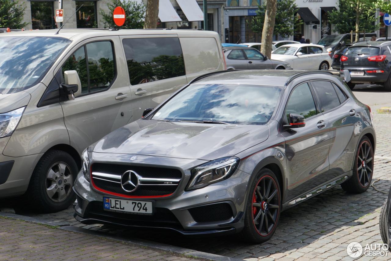 Mercedes benz gla 45 amg edition 1 17 juin 2017 autogespot for 2017 amg gla 45 mercedes benz