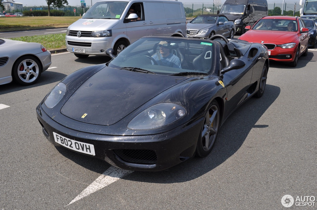 ferrari 360 spider 19 june 2017 autogespot. Black Bedroom Furniture Sets. Home Design Ideas