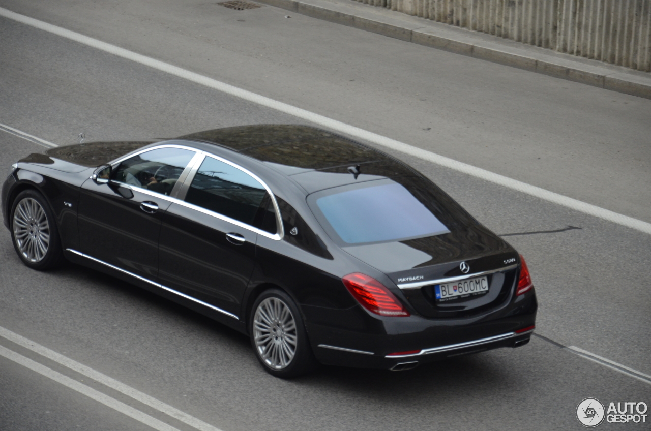 Mercedes maybach s600 19 juni 2017 autogespot for 2017 mercedes benz s600