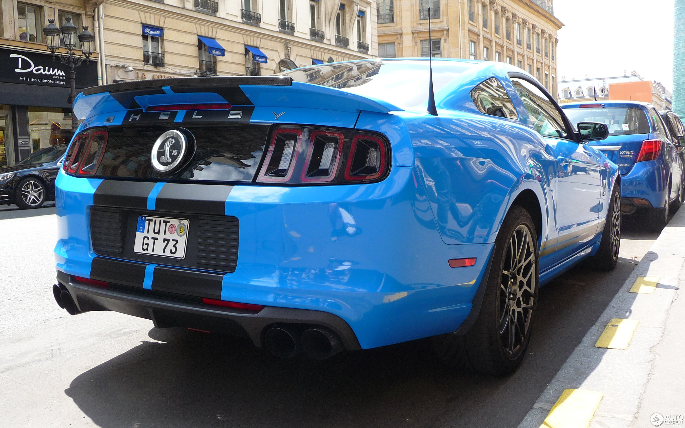 Ford Mustang Shelby GT500 2013 19 June 2017 Autogespot