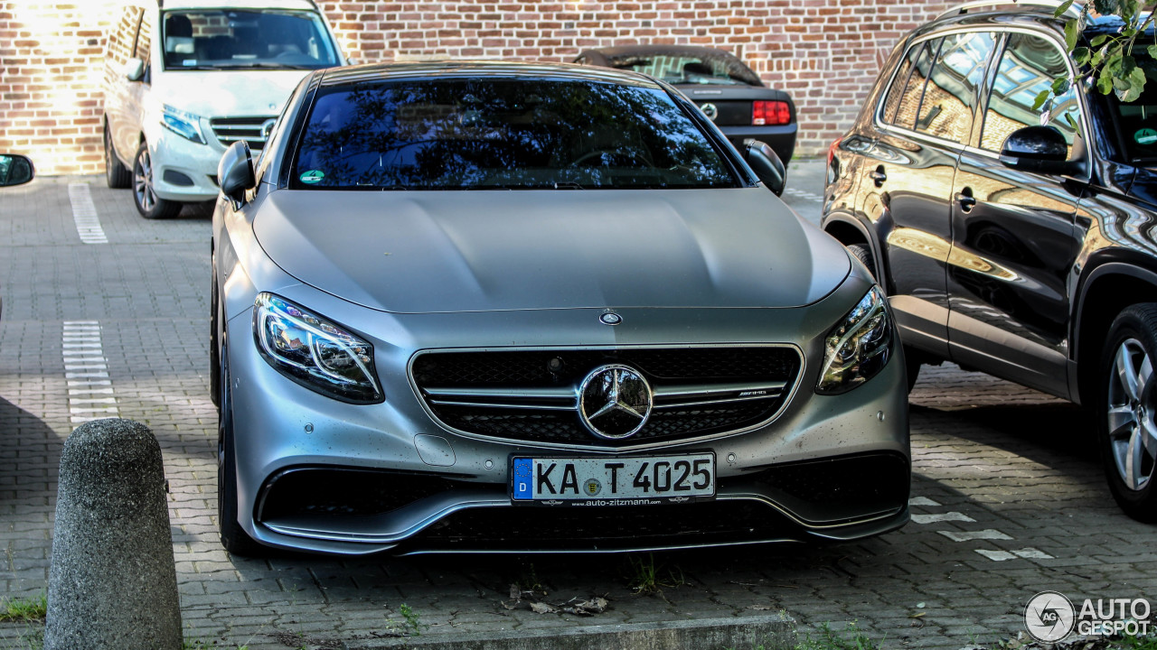 Mercedes benz s 63 amg coup c217 20 june 2017 autogespot for All types of mercedes benz cars