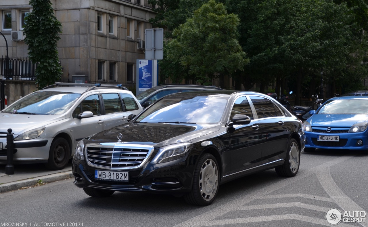 Mercedes maybach s600 21 june 2017 autogespot for 2017 mercedes benz s600 maybach