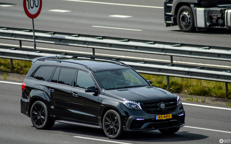 Mercedes Amg Brabus Gls 850 6 0 Biturbo 23 June 2017 Autogespot