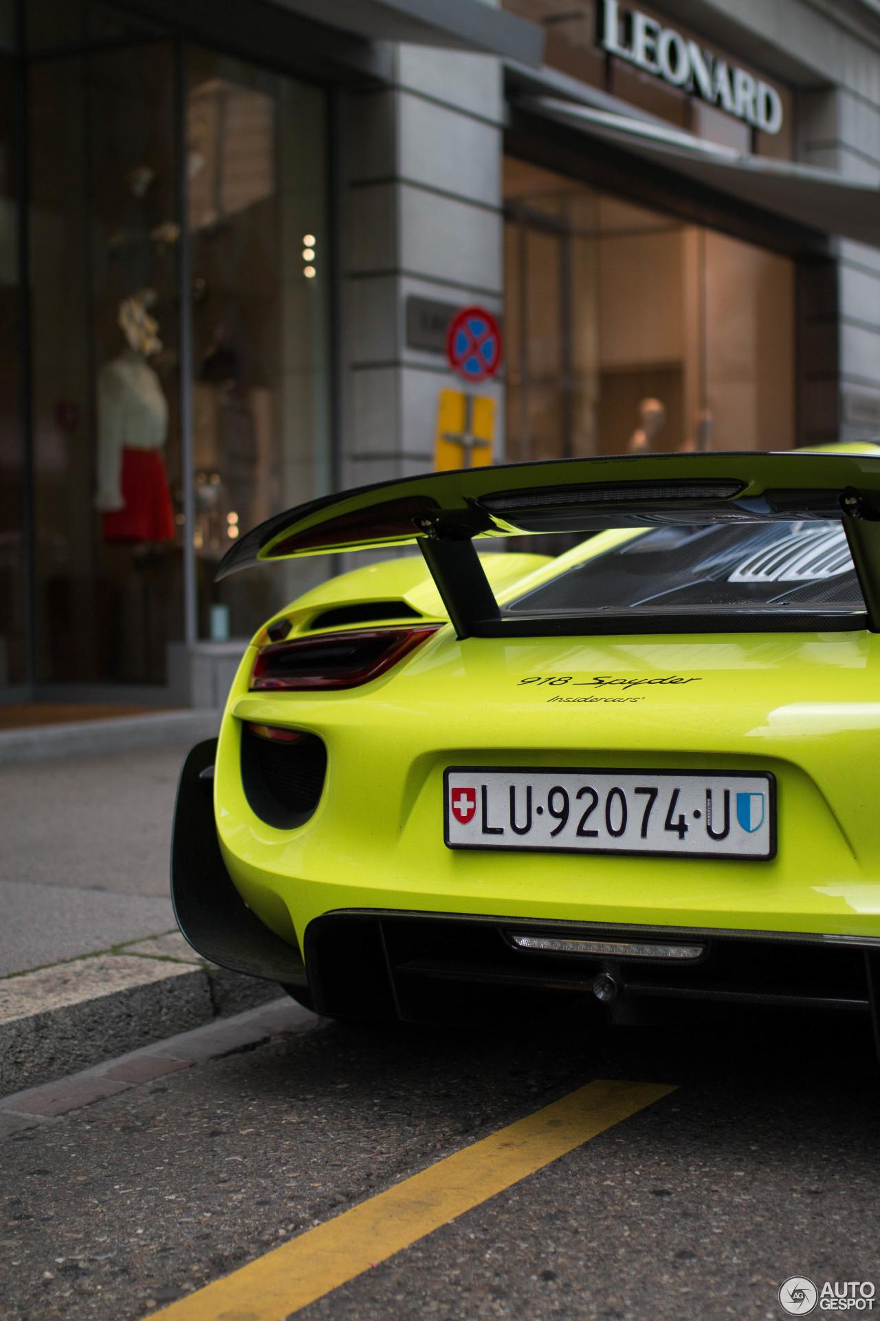 porsche-918-spyder-weissach-package-c949323062017230933_5 Gorgeous Porsche 918 Spyder Acid Green Cars Trend
